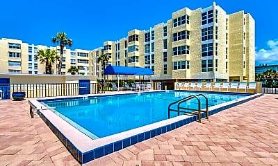 Pool, 4700 Ocean Beach Blvd 208, 2