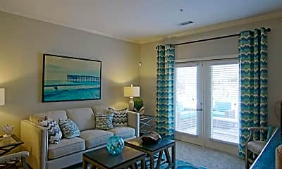Living Room, Ansley Commons Apartments, 1