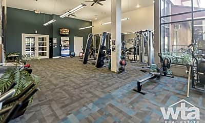 Fitness Weight Room, 11011 Domain Dr #8100, 2
