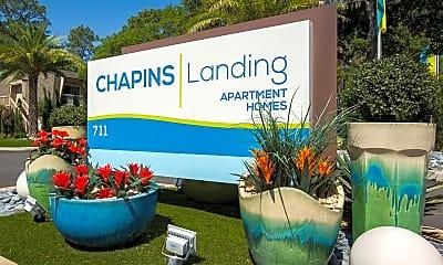 Community Signage, Chapins Landing, 2