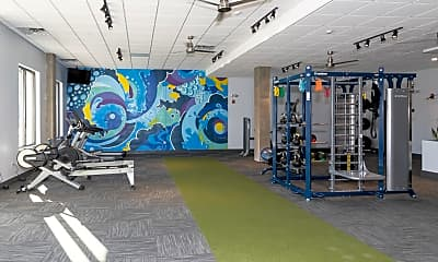 Fitness Weight Room, 3800 Acqua Apartments, 0
