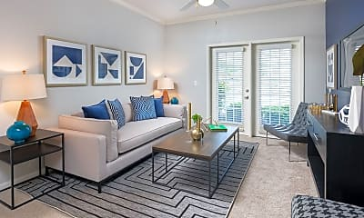 Living Room, Monarch Apartment Homes, 2