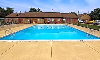 Pool, Creekside South, 1