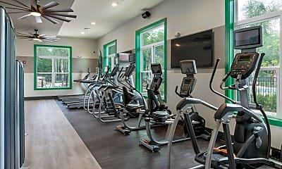 Fitness Weight Room, BellaNova at JubiLee Park, 2