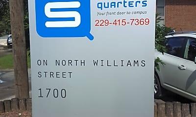 Student Quarters on Williams, 1