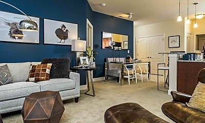 Living Room, Abberly at Southpoint, 1