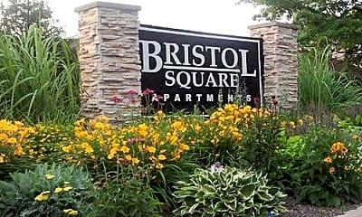 Community Signage, Bristol Square, 0