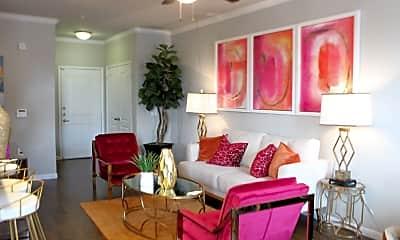 Living Room, 7 Square Apartment Homes, 2