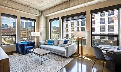 Living Room, 728 N 3rd St 207, 0
