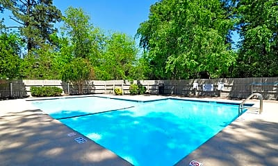 Pool, Silver Creek Apartments, 0