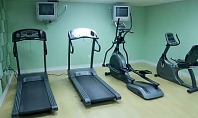 Fitness Weight Room, Briarlane Apartments, 1