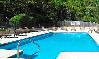Pool, Timberchase Apartments, 0