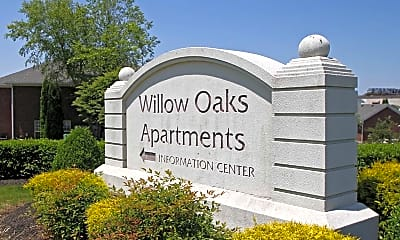 Community Signage, Willow Oaks Apartments, 2