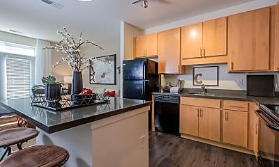 Kitchen, Circa Apartments, 0