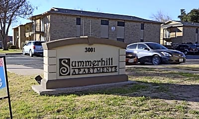 Community Signage, Summerhill Apartments, 2