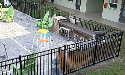 Patio / Deck, 5600 N Banana River Blvd 42, 2