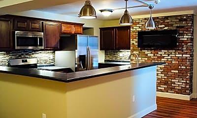 Kitchen, Elm Grove Apartments, 2