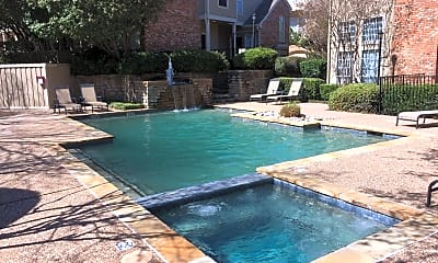 Pool, 14400 Montfort Dr. Apt. 901, 2