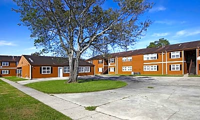 Building, Holly Park Apartments, 1