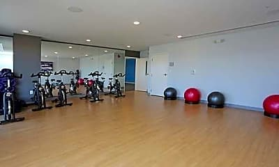 Fitness Weight Room, Apartments at New Braunfels, 2