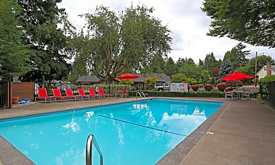 Pool, The Oswegan Apartments, 0