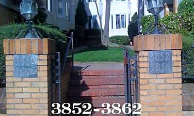 Community Signage, 3860 California St, 1