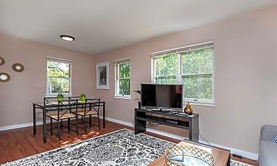Living Room, 1300 High St, 1