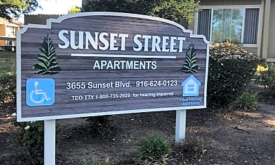 Sunset Street Apartments, 1
