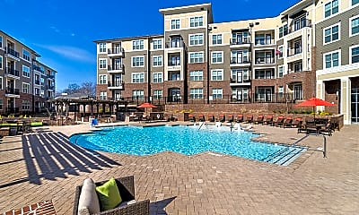 Pool, Meridian at Sutton Square Apartments, 0