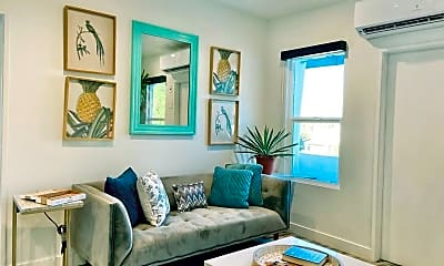 Living Room, 1023 Tremont St, 1
