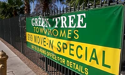 Green Tree Townhomes, 1