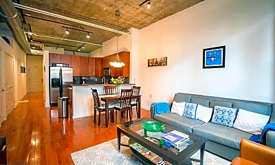 Living Room, 130 N 2nd St 2B, 1