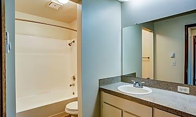 Bathroom, Eaton Village Apartments, 2