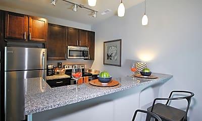 Kitchen, Knapp's Corner Flats, 1