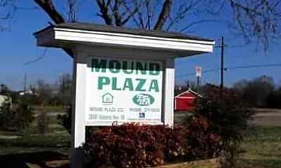 Community Signage, Mound Plaza Apartments, 1
