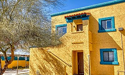 Building, 317 N Vine Ave, 1