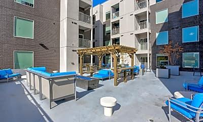 Courtyard, Downtown 360, 2