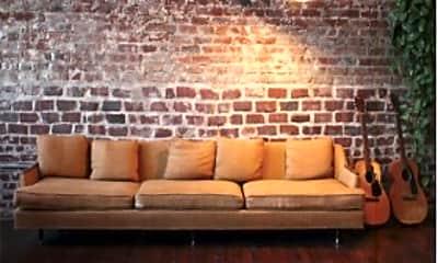 Living Room, The Lofts of Webster, 1