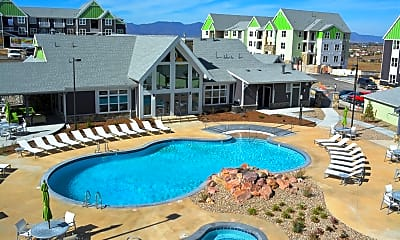 Pool, Lodge at Black Forest, 1