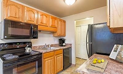 Kitchen, Newcastle Apartments, 1