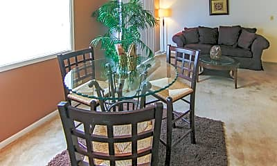 Dining Room, Beech Grove Village Apartments, 1