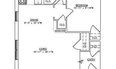 Bathroom, 434 Shady Ave, 2