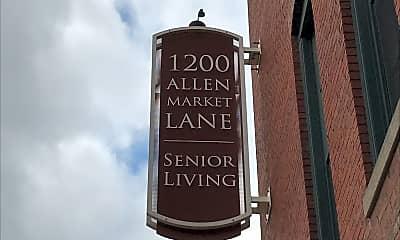 Allen Market Lane Apartments, 1