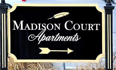 Community Signage, Madison Court Apartments, 2