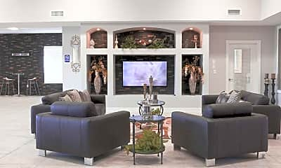 Living Room, Three Palms, 1