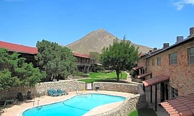 Pool, Los Arcos Apartments, 0