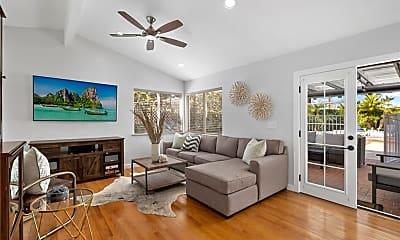 Living Room, 203 Rose Ln, 1