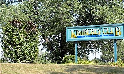 Community Signage, Kimberly Club, 2