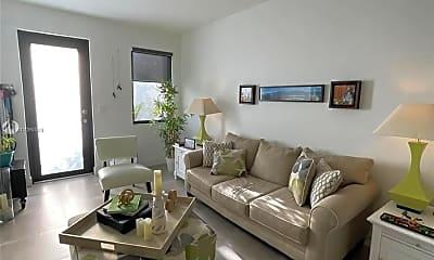 Living Room, 501 SW 91st Pl, 2