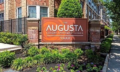 Community Signage, The Augusta, 1